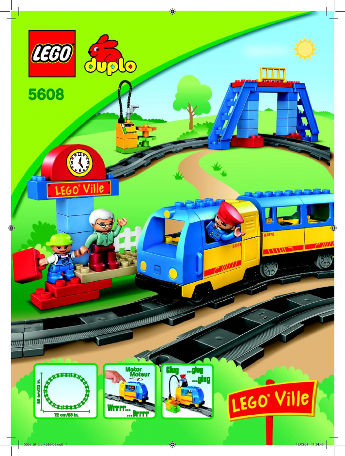 Train Super Pack 3-in-1