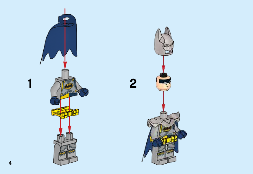 инструкция Excalibur Batman™ Fun Pack шаг 3