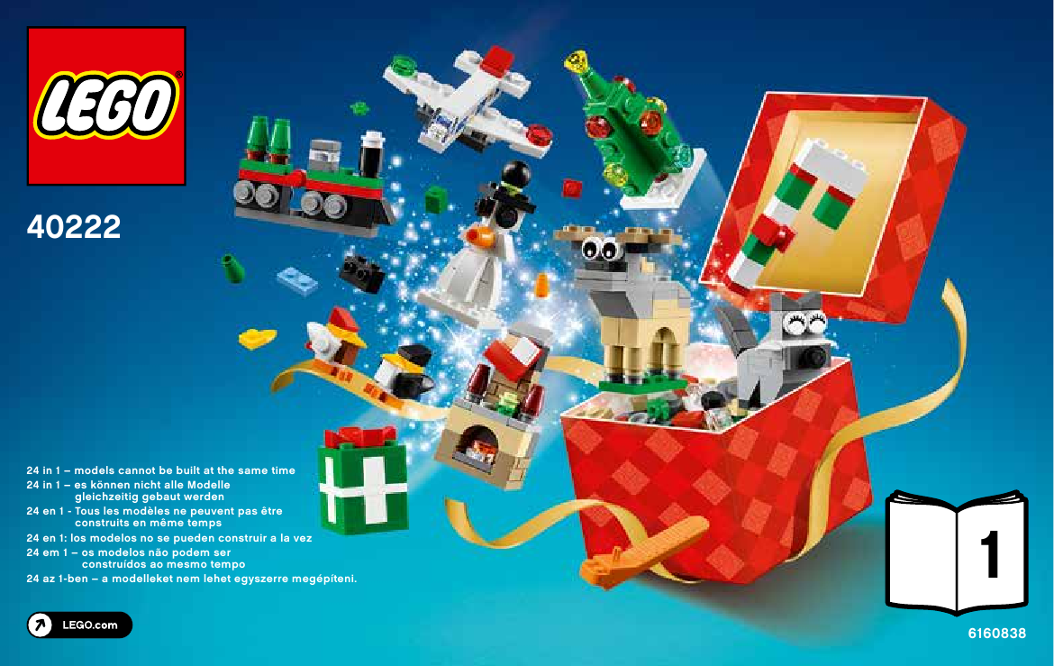LEGO Christmas Build Up