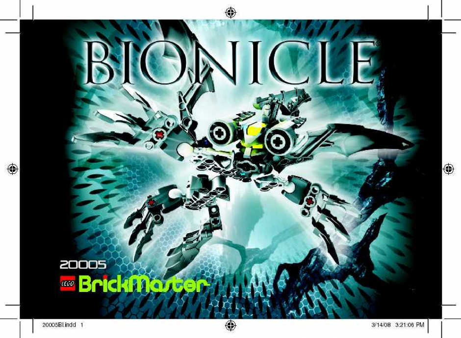 Brickmaster - Bionicle