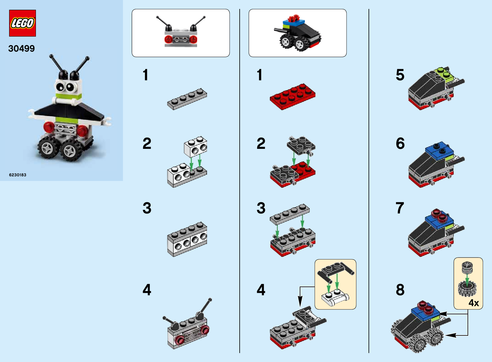 Robot/Vehicle Free Builds - Make It Your